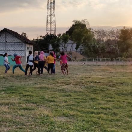Lomba Kasti Dalam Rangka Perayaan Sedekah Bumi Desa Maguan